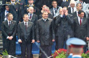 """Парада, Вучић, Путин и """"велика Албанија"""""""