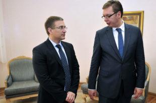 Министар Стефановић је ужаснут због вређања Вучића а није ужаснут чињеницом да му је шиптарски дрон данима зујао по центру Београда?!