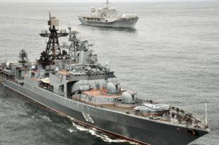 ВЕЖБА: Бродови руске Северне флоте допловили до Ламанша