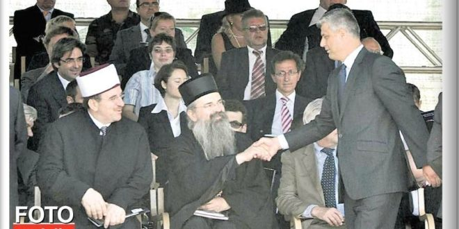 ЦИА уз помоћ екуменистичких јеретика прави Тачију косовску православну цркву