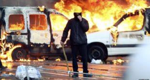 Брисел у пламену, сукоб полиције и демонстрaната (видео) 10