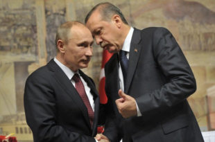Ердоган се извинио Русији због обарања авиона у Сирији и погибије пилота