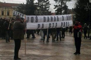 Неготинци на ногама! Протести у центру града због превисоких рачуна за грејање и астрономског пореза на имовину