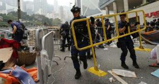 Крај прозападних демонстрација у Хонгконгу - полиција уклања последње барикаде 8