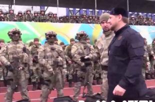 СИЛА! Рамзан Кадиров окупио 20.000 чеченских специјалаца и послао поруку Путину да су спремни да ратују било где у свету (видео)