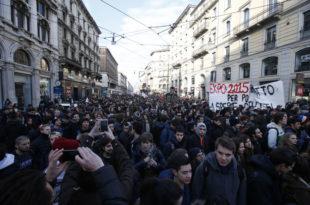 Хиљаде италијанских радника штрајкује против реформи