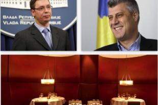 Тачи частио Вучића: Вучић и Тачи ручали заједно у Њујорку, на менију раскомадана Србија!
