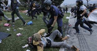 Сукоб полиције и демонстраната у Хонгконгу 9