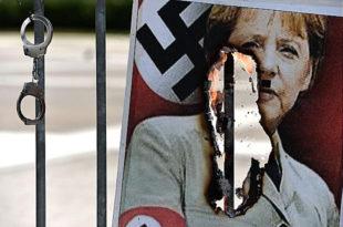 Ангела Меркел тврди да Русија жели да повећа свој утицај на Балкану док су Немци свој утицај ширили теписима НАТО бомби!
