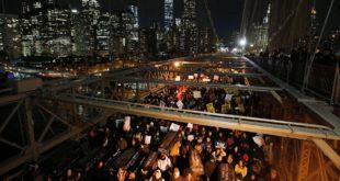 Расни протести у Њујорку: Нема правде, нема мира!  9