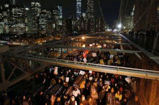 Расни протести у Њујорку: Нема правде, нема мира!