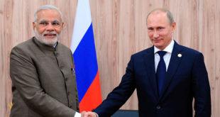 Владимир Путин стигао у посету Индији 5