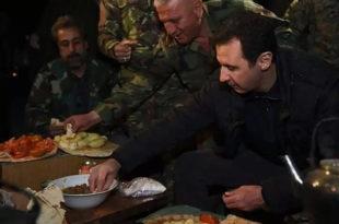 Погледајте како Башар Ел Асад слави Нову годину!