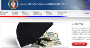 Да ли има корупције у Агенцији за осигурање депозита? 7
