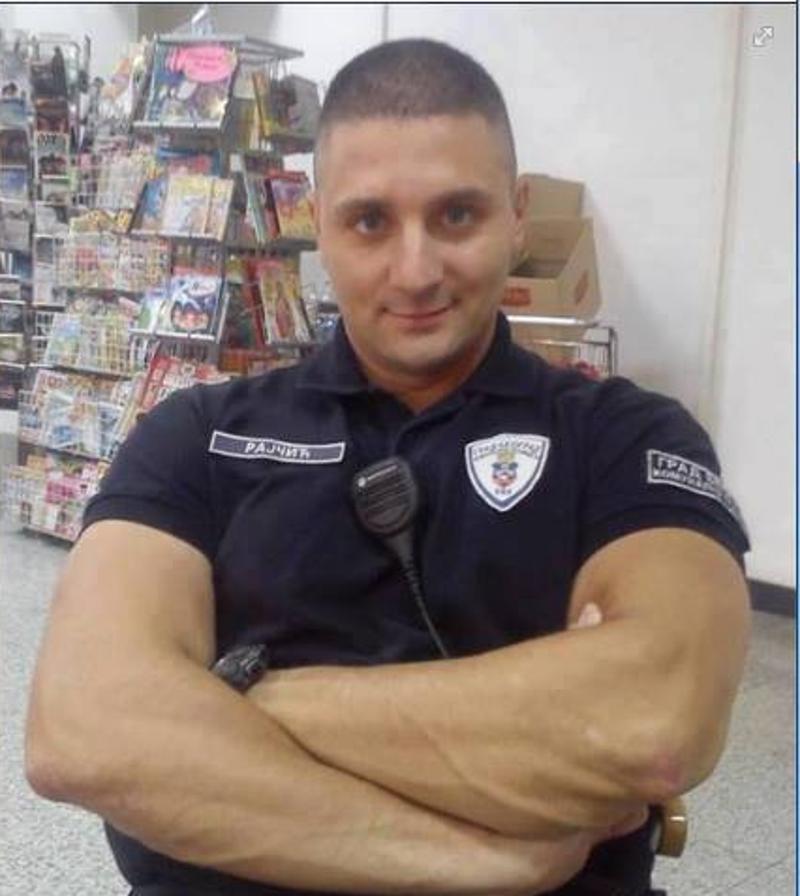 Комунални полицајац Драган Рајчић