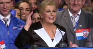 СКАНДАЛ: Нова председница Хрватске отцепила Војводину од Србије, па запевала усташку песму (видео) 7