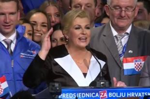 СКАНДАЛ: Нова председница Хрватске отцепила Војводину од Србије, па запевала усташку песму (видео)