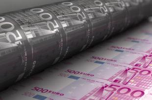 Европска централна банка почела масовно штампање евра! 2