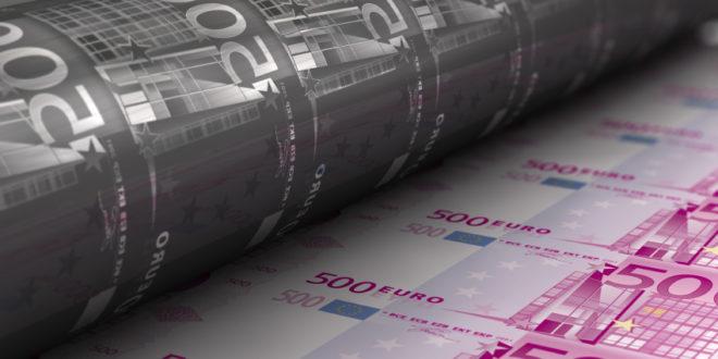 Европска централна банка почела масовно штампање евра!
