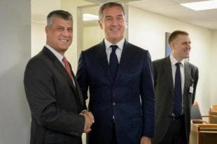 Отказано Тачијево предавање о НАТО интеграцијама у Подгорици