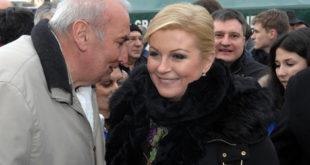 """Гласови се још броје, али будућа хрватска председница Колинда слави победу """"уз усташу Томсона и тамбураше"""" 9"""
