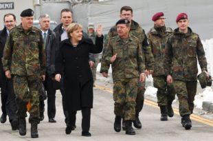 """Меркел тврди да је Русија нарушила послератни поредак у Европи али не каже шта тражи немачки """"Бундесвер"""" на Косову"""