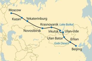 Кинези праве пругу Пекинг-Москва