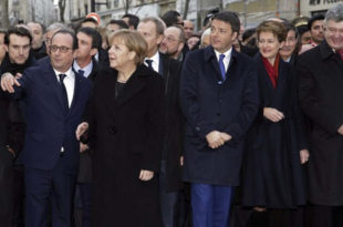 Вашингтон пост: Лицемерје светских лидера на маршу у Паризу