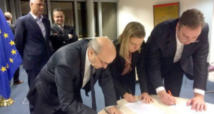 Ти бандиту и Вучић сте изоловали Србе на КиМ потписима на Бриселски споразум! 8