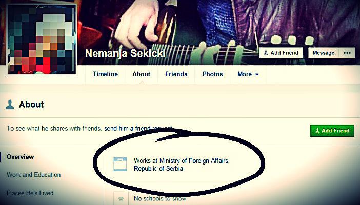 У Србији свако може бити дипломата