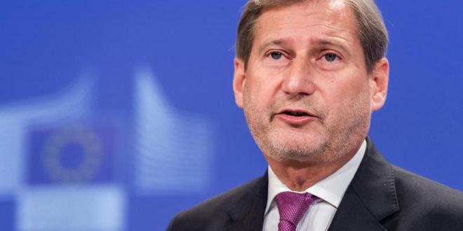Европски комесар Јоханес Хан отишао као попишан из Скопља 1