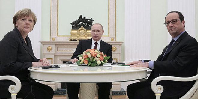 ЏАБА КРЕЧИТЕ! Меркелова и Оланд сатима разговарали са Путином о украјинској кризи 1