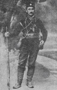 Мустафа Голубић - Четник 1912. година