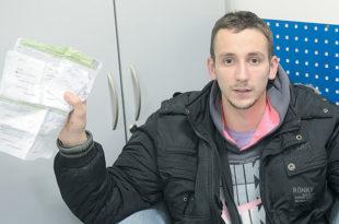 Нови Сад: Студент оптужује комуналне полицајце да су га малтретирали