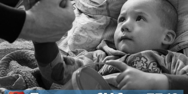 Слањем СМС-а на број 7763 можете помоћи малом Илији са слике и хиљадама угрожених српских породица широм Балкана!