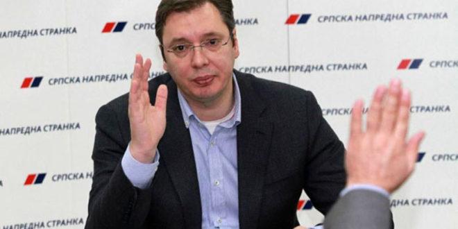 СНС користио мафијашке методе за прикупљање донација за кампању Александра Вучића