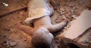 Исламска Коалиција предвођена Сједињеним Државама бомбардовала неонатологију у Абу Камалу, Сирија (видео 18+) 3
