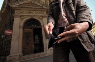 Просечни месечни приходи домаћинства за 400 динара мањи од трошкова