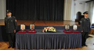 Опроштај од погинулих припадника РВ и ПВО 9