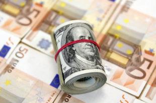 Евро пао на 26-месечни минимум према долару 2