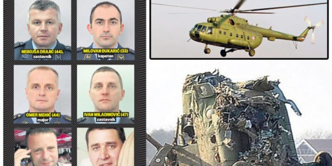 Нико још није одговарао за пад војног хеликоптера и смрт седам људи 1