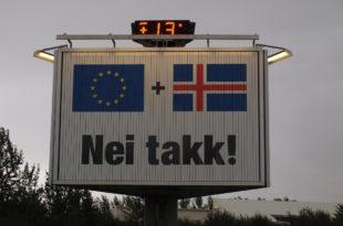 """Исланд рекао """"не"""" Европи: Боље нам је ван ЕУ"""