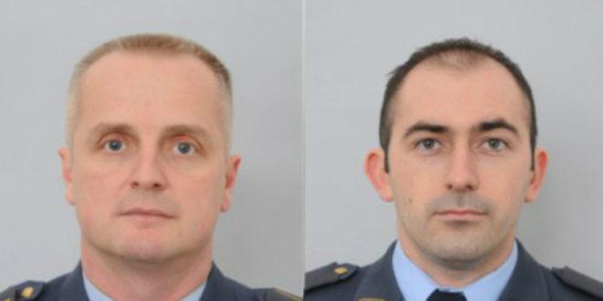 Сахрањени пилоти Мехић и Ђукарић 1