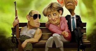 У великој игри која је у току - Путин ће победити, а Обама и Меркелова изгубити 10
