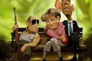 У великој игри која је у току - Путин ће победити, а Обама и Меркелова изгубити 2