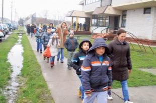Вредно село с три стотине деце
