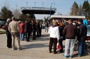 """Протест радника шабачке """"Млекаре"""": За отказе оптужују и Град"""