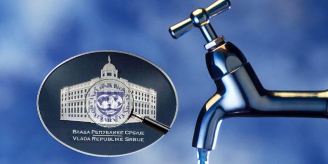 РЕРИ и Скупштина слободне Србије предају захтев да се Закон о водама повуче из процедуре