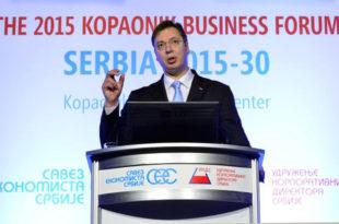 """Вучићу, твоја влада нема ни """"Е"""" од економског плана и стратегије док си српску економију и привреду предао у руке ММФ-а и страних монопола!"""