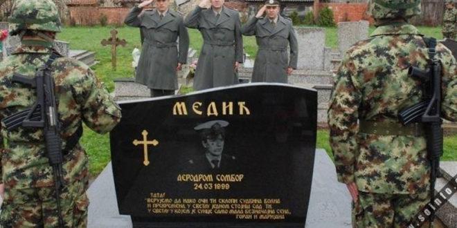 ДА СЕ НЕ ЗАБОРАВИ : Заставник Радован Медић, био је прва жртва НАТО бомбардовања 24. марта 1999. године у Србији